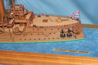 Авторская модель корабля - крейсер Аврора 11.