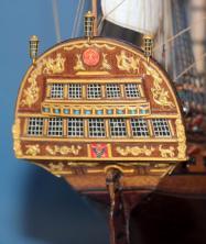Модель ручной работы корабля Ингерманланд. Декор