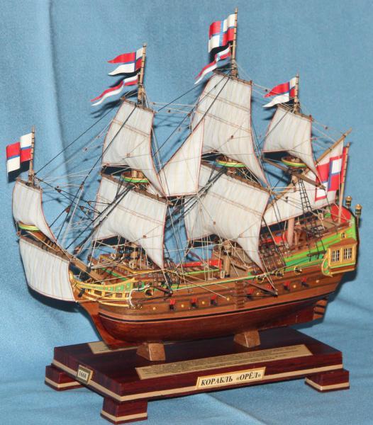 Модель военного корабля Орёл.  Основные параметры