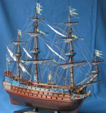 Модель корабля Vasa. Параметры.