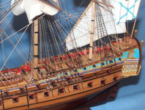 Готовая модель корабля Ингерманланд.