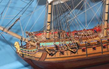 Авторская модель корабля Ингерманланд. Шлюпки