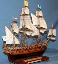 Модель корабля Ингерманланд. Служба.