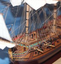 Модель корабля Ингерманланд. Артиллерия.