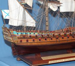 Модель корабля Ингерманланд. Рангоут.