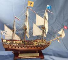 Модель корабля Ингерманланд. Постройка.