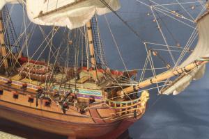 Нос корабля Ингерманланд.