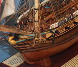 Модель корабля Меркурий.