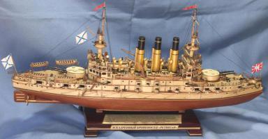 Модель корабля Ретвизан. основные характеристики