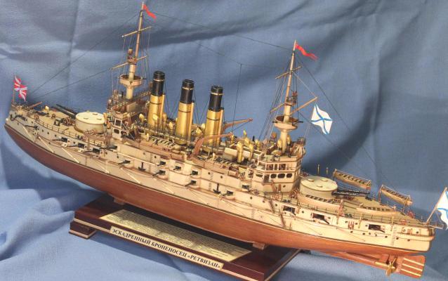 Модель корабля Ретвизан. Шлюпки.