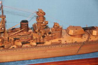 Модель корабля Советский Союз 24.