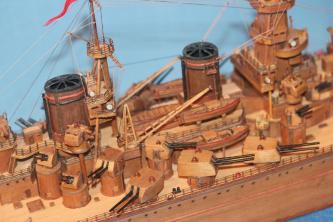 Модель корабля Советский Союз 25.