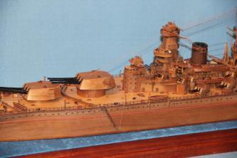Модель корабля Советский Союз 9.