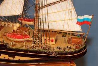 Модель УПС Крузенштерн. 6.
