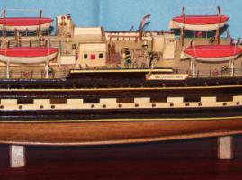 Модель парусника Крузенштерн. Оборудование