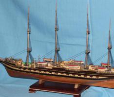 Модель барка Крузенштерн. фото