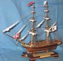 Модели кораблей - бриг Меркурий
