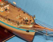 Модель УПС  `Мир`. Бак палуба.