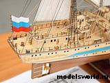 Модель парусного судна `Мир`. 7