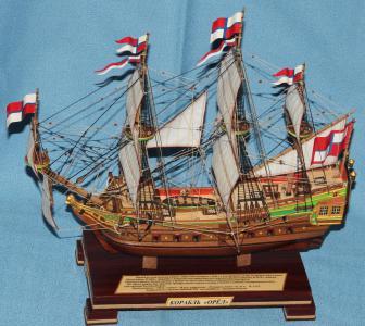 Готовая модель корабля Орёл