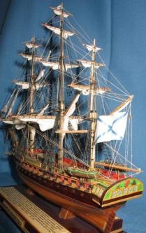 модели кораблей - Паллада Экипаж.