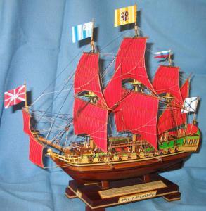Модели кораблей - Фрегат Штандарт Алые паруса