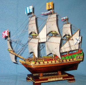 Модель корабля Штандарт, характеристики