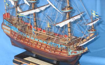 Модель корабля Vasa. Вооружение