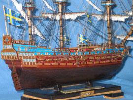 Модель корабля Vasa. Экипаж.
