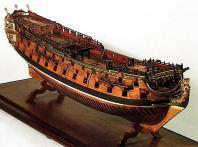 адмиралтейская модель корпуса корабля