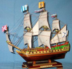 модель парусника - фрегат Штандарт