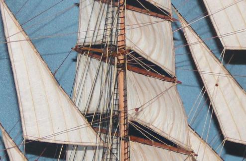 Ткань для парусов моделей кораблей и судов
